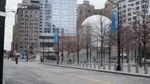 Popular New York City destinations deserted as COVID-19 lockdown kicks in