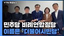 당명은 '더불어시민당'...예상대로 위성정당 대결 / YTN