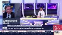 Thibault Françoi (Fastea Capital) et Jean-François Gilles (Erasmus Gestion): Nouvelle chute du CAC 40 après un léger rebond - 18/03