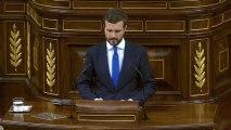 """Casado dice a Sánchez que """"no está solo"""" y puede contar con el apoyo del PP"""