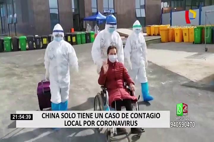 China solo tiene un caso de contagio por coronavirus