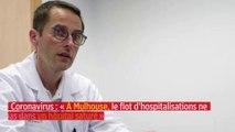 Coronavirus : « À Mulhouse, le flot d'hospitalisations ne tarit pas dans un hôpital saturé »