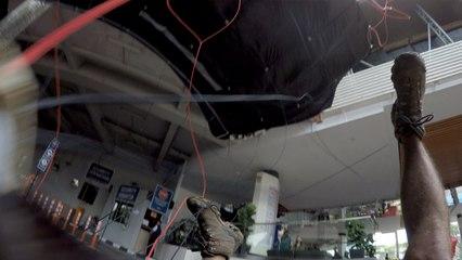 Basejumper maakt miraculeuze landing nadat scherm niet werkt