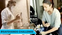 SafeHands Challenge: Anushka Sharma And Deepika Padukone Participate