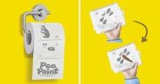 PooPaint : le papier toilette qui vous permet de jouer les artistes aux WC