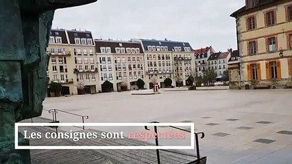 Fontainebleau à l'heure du confinement. Mercredi 18 mars 2020