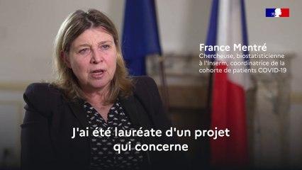 Covid 19 Projet de recherche sur le suivi de cohorte des patients infectés - France Mentré, chercheuse, biostatisticienne à l'Inserm, coordinatrice