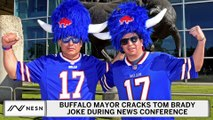 Buffalo Mayor Cracks Tom Brady Joke During Covid-19 Press Conference