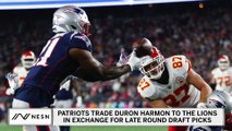 Patriots Trade Veteran Safety Duron Harmon To Lions