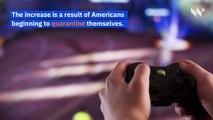Coronavirus Causes US Video Game Usage to Jump 75 Percent