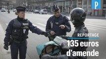 Confinement : à Paris, les première amendes tombent