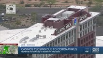 Casinos shutting down in wake of coronavirus pandemic