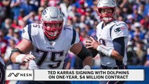 Ted Karras Also Leaving Patriots, Signing With Dolphins