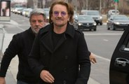 U2's Bono gives debut performance of new song via live-stream