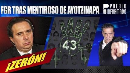FRG va por Tomás Zerón, creador de la mentira de la llamada Verdad Histórica