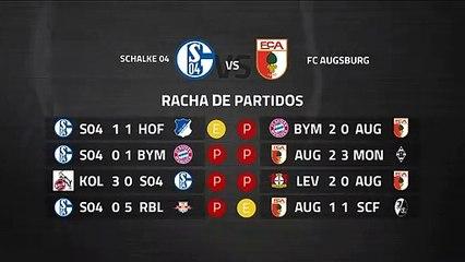 Previa partido entre Schalke 04 y FC Augsburg Jornada 27 Bundesliga