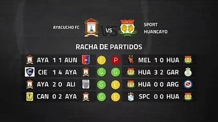 Previa partido entre Ayacucho FC y Sport Huancayo Jornada 8 Perú - Liga 1 Apertura