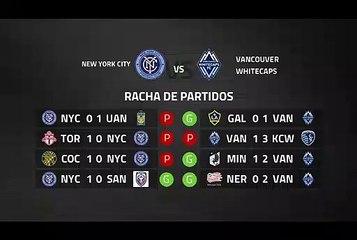 Previa partido entre New York City y Vancouver Whitecaps Jornada 4 MLS - Liga USA