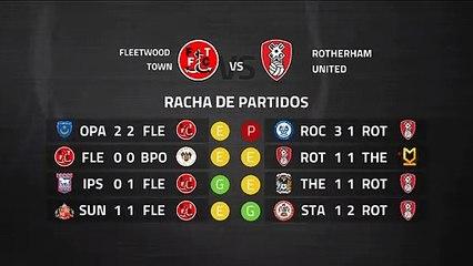 Previa partido entre Fleetwood Town y Rotherham United Jornada 39 League One