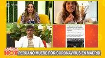 La presentadora Mónica Hoyos habló de la díficil situación en España