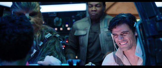 Star Wars The Rise of Skywalker Friendship