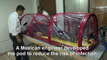 Mexican engineer develops special pod for coronavirus patients