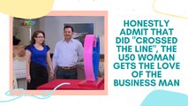 """Honestly admit that did """"crossed the line"""", the U50 woman gets the love of the business man"""