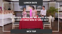 """The truthful orphan boy was denied bluntly by a choosy single mom in """"Lunch Date"""""""
