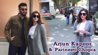 Arjun Kapoor Flirt!ng of Parineeti Chopra at Sandeep Aur Pinky Faraar Movie