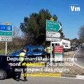 Coronavirus: à  Brignoles, les gendarmes poursuivent la prévention