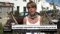 """VIRUS - Réfugiés dans leurs maisons de campagne, les Parisiens inquiètent les habitants de l'île de Ré: """"On n'est pas en vacances, on est en confinement"""" - VIDEO"""