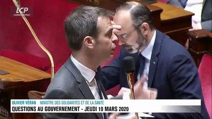 """VIRUS - Le Ministre de la Santé, Olivier Veran : """"Les masques FFP2 et les masques chirurgicaux sont des biens précieux"""" - VIDEO"""