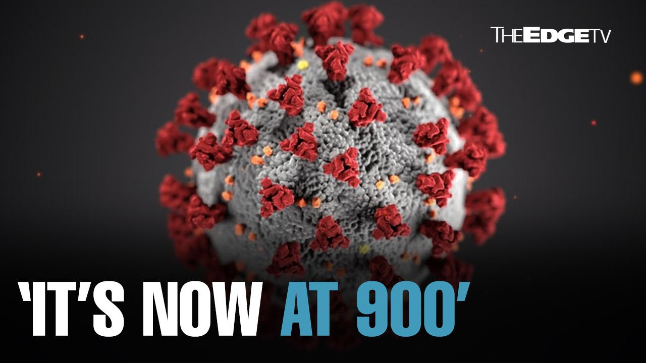NEWS: M'sia's Covid-19 cases reach 900