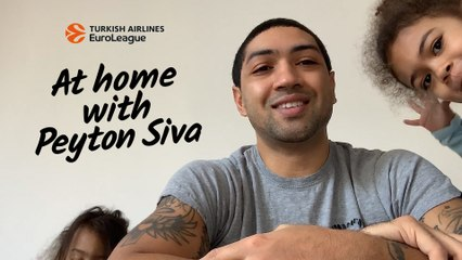 At home with Peyton Siva, ALBA Berlin