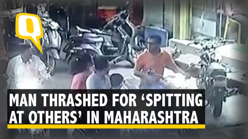COVID-19: Man Thrashed for 'Spitting At Others' in Kolhapur