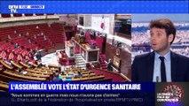 L'Assemblée vote l'état d'urgence sanitaire (2) - 19/03