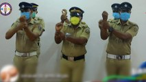 Coronavirus: Indian police perform 'handwashing dance' to remind public about good hygiene