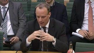 Dominic Raab updates MPs on repatriation efforts