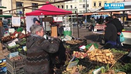 Le marché de Cherbourg
