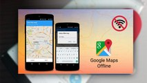 How To Save Google Maps Route Offline