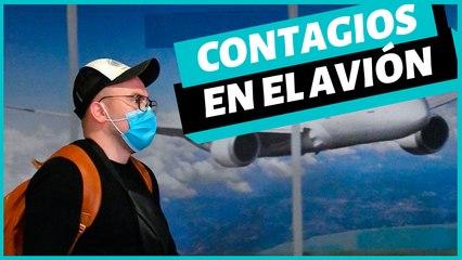 ¿Cómo  evitar el contagio de enfermedades cuando vas en un avión?
