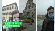 Mi vida en cuarentena: El día a día de Giulia