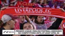 Premier League Extends Suspension Of Competitions To April 30