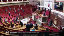 Etat d'urgence sanitaire: une séance parlementaire inhabituelle