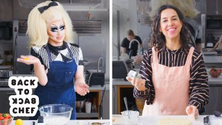 Trixie Mattel Tries to Keep Up with a Professional Chef