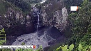 Mystery As Ecuador's Tallest Waterfall Disappears