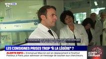 Emmanuel Macron déplore que les consignes du confinement ne soient pas appliquées