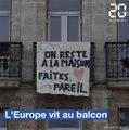 Coronavirus : Italie, Espagne, France, Belgique, les citadins européens vivent au balcon