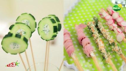 Les sucettes de concombre avec 123 Cuisine sur Piwi+