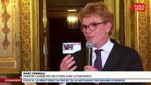 Le ministre Marc Fesneau raconte comment le gouvernement et le Sénat ont décidé de reporter l'élection des maires prévue ce week-end